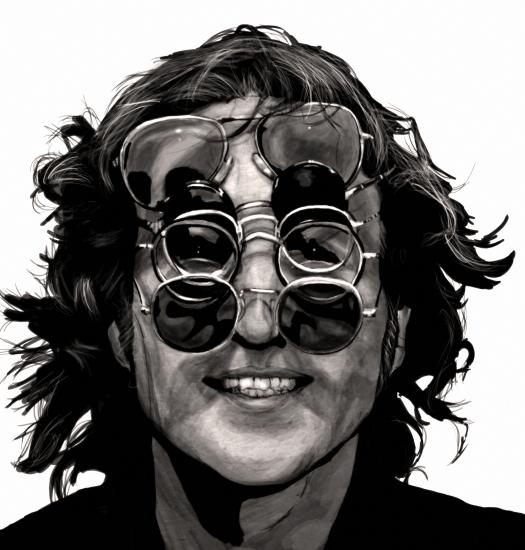 John Lennon por lokiangel87